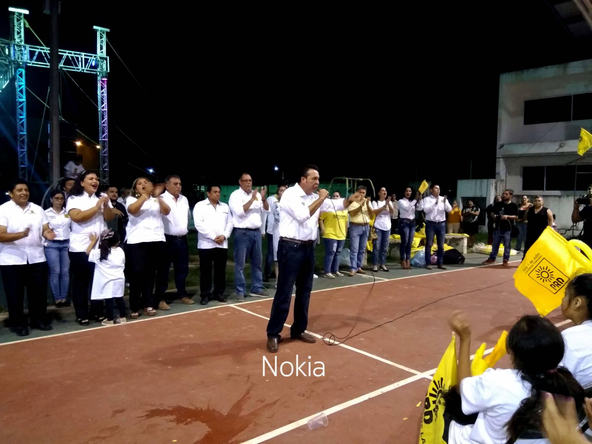 Cierre de campaña del Dr Orestes Somarriba, candidato por el PRD