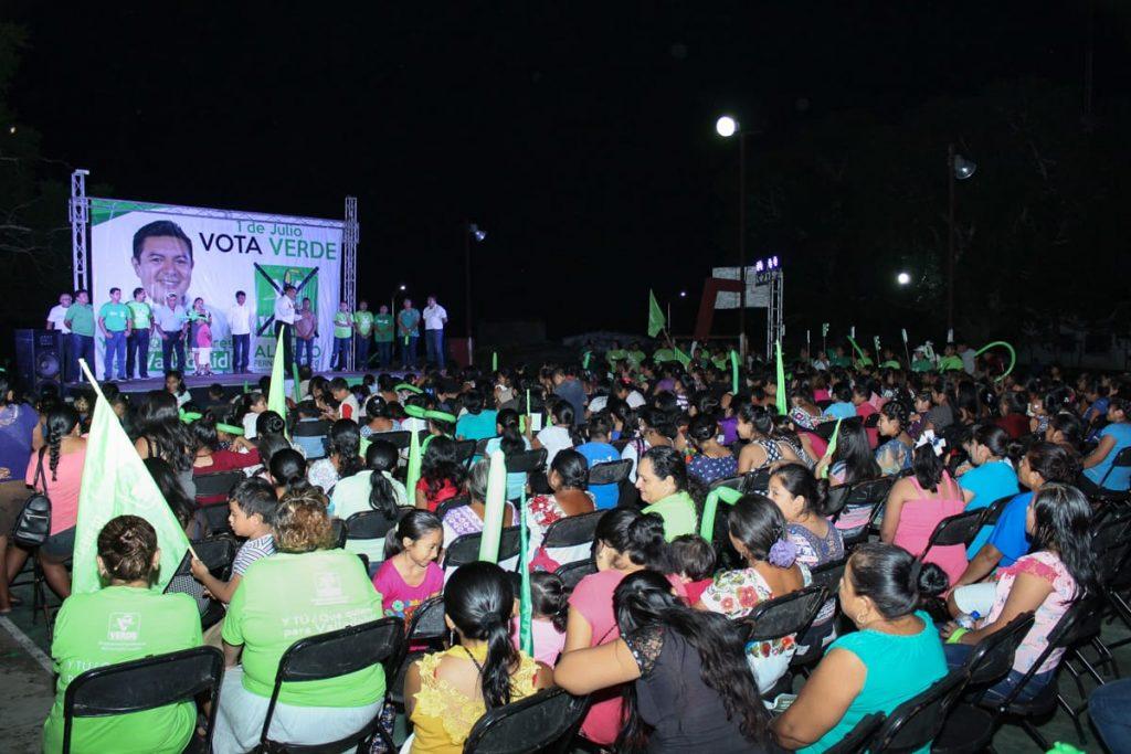 Cierre de campaña Alfredo Fernandez Arceo