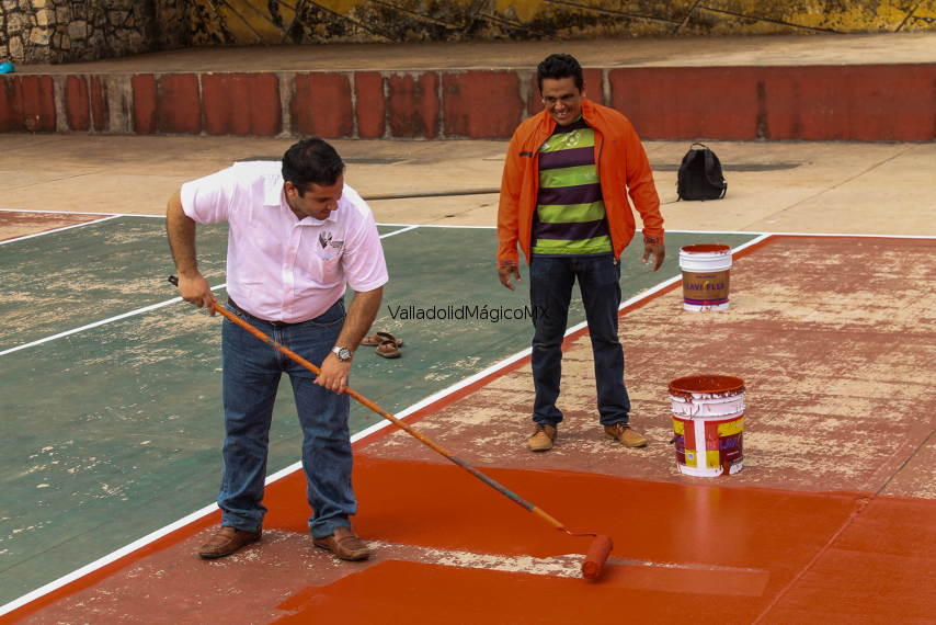 Supervisa alcalde, mantenimiento y limpieza de espacios públicos
