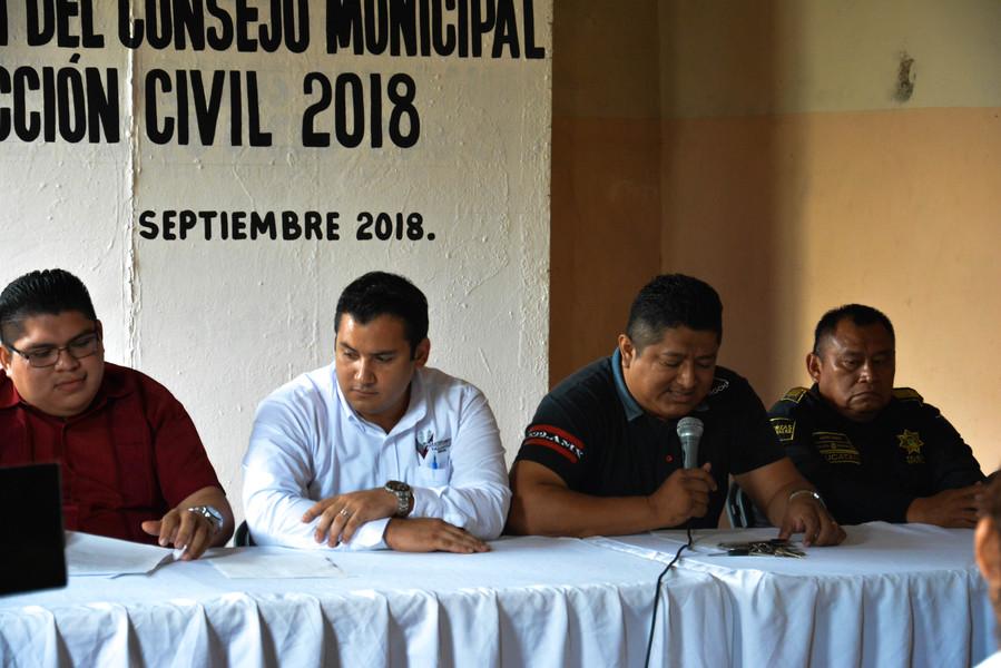 Instalan Consejo Municipal de Protección Civil Valladolid Yucatán