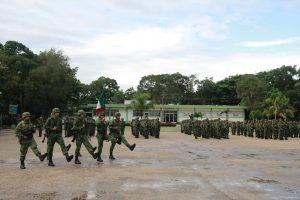 Nuevo comandante de caballería motorizada Valladolid Yucatan