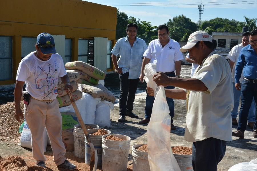 Implementan mejoras en las instalaciones del mercado municipal Donato Bates, Cenote Zací, y bazar municipal