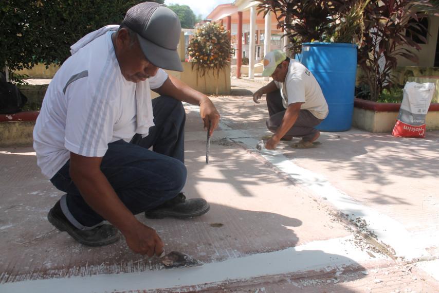 Mejoras en el cementerio municipal.
