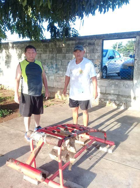 Solicitan ciudadanos mantenimiento en área de gimnasio de los parques