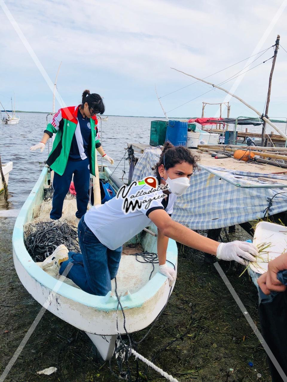 Limpiemos Río lagartos 2018. Programa llevado a cabo por el H. Ayuntamiento en coordinación con diversas organizaciones juveniles