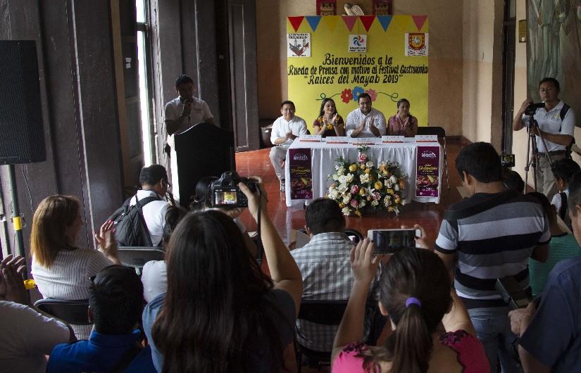 """Presentan Festival gastronómico, """"Raíces del Mayab"""""""