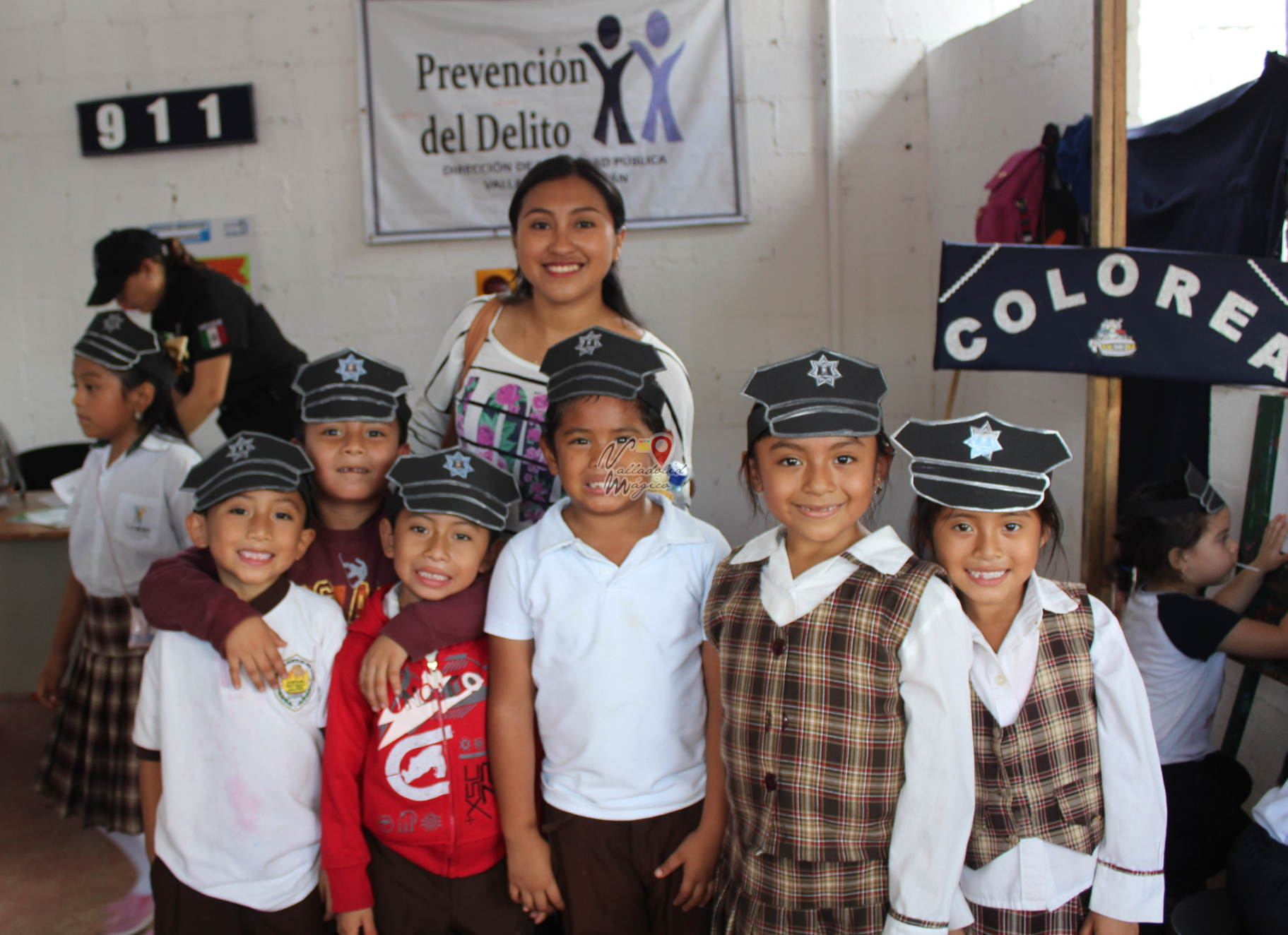 Continúan las visitas escolares a la feria de Valladolid, Yuc.