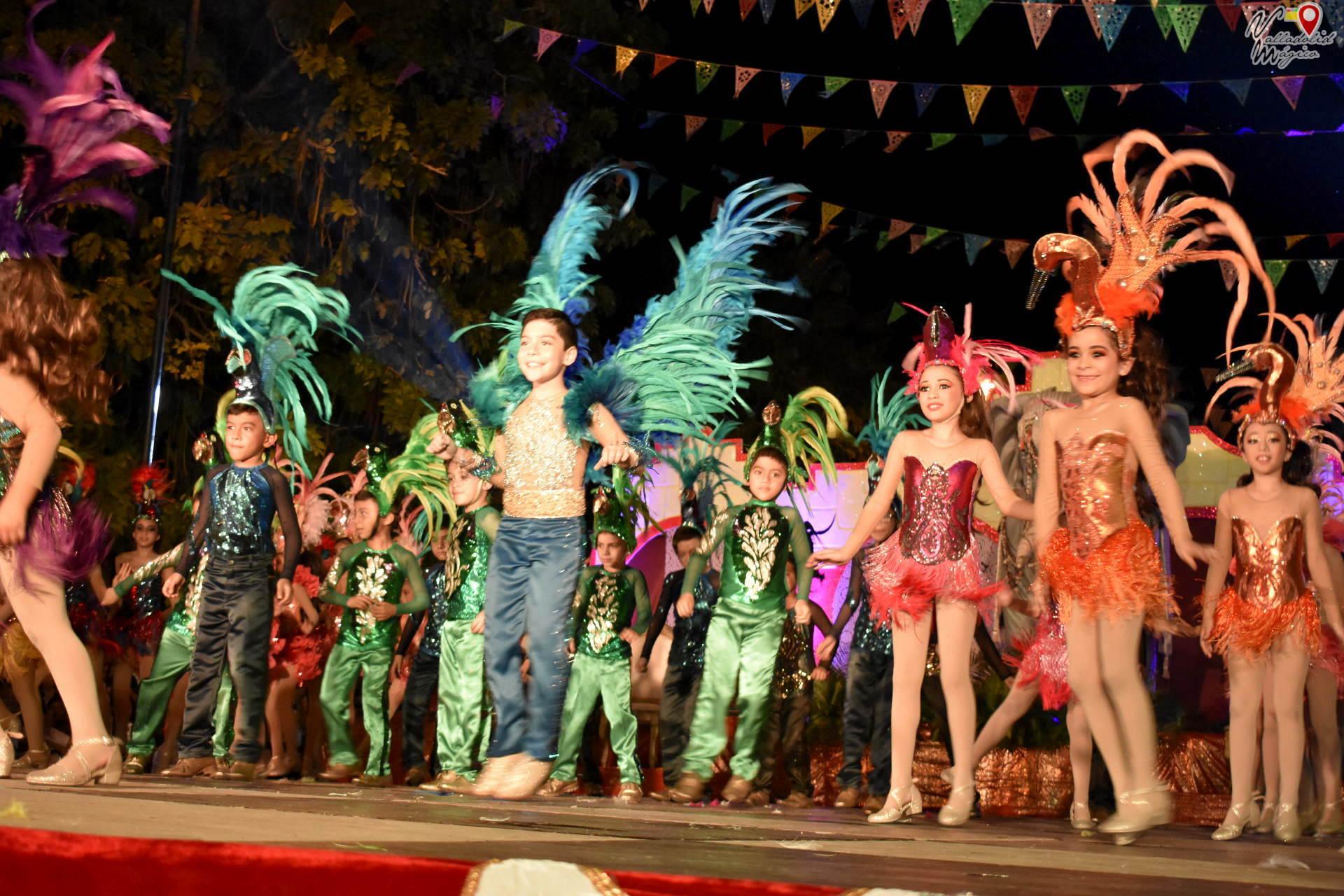Coronación de los Reyes del Carnaval Valladolid 2019