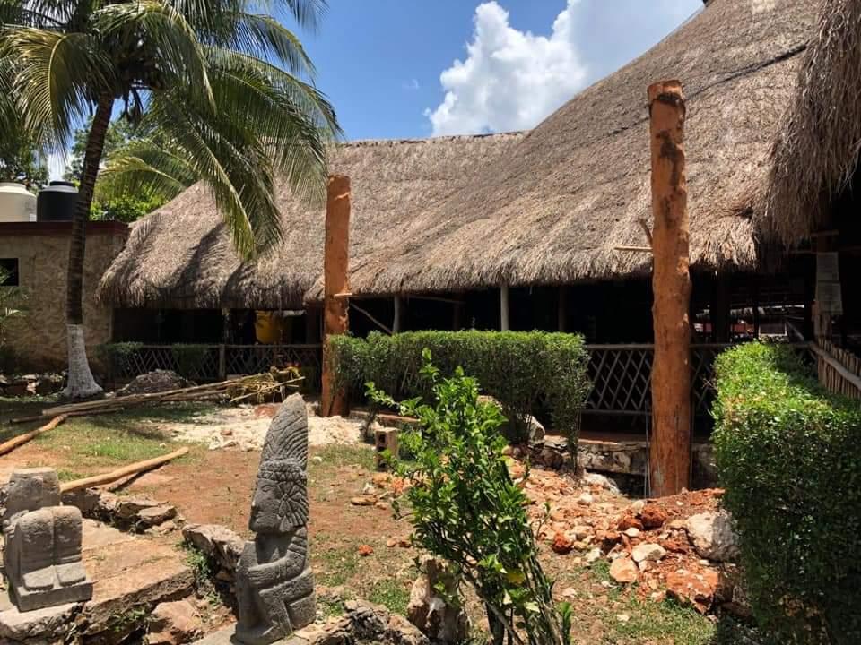 Realizan mejoras en el parador turístico del cenote Zaci. Anuncia el alcalde