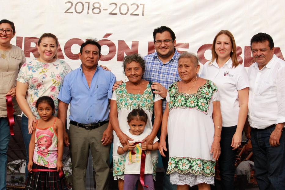 Nuevas calles en Yalcón y popolá