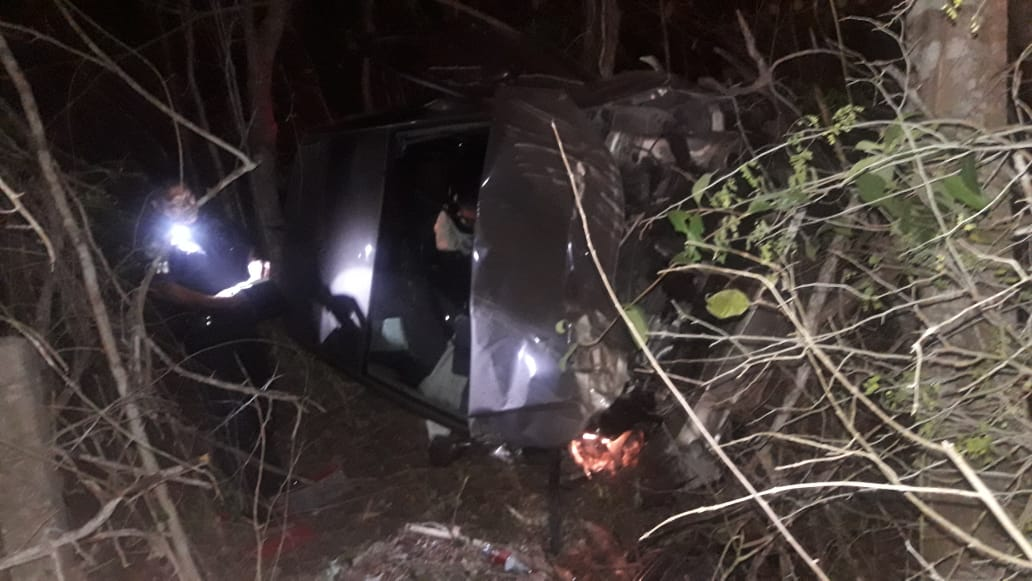 Accidente en la carretera Mérida A Cancún