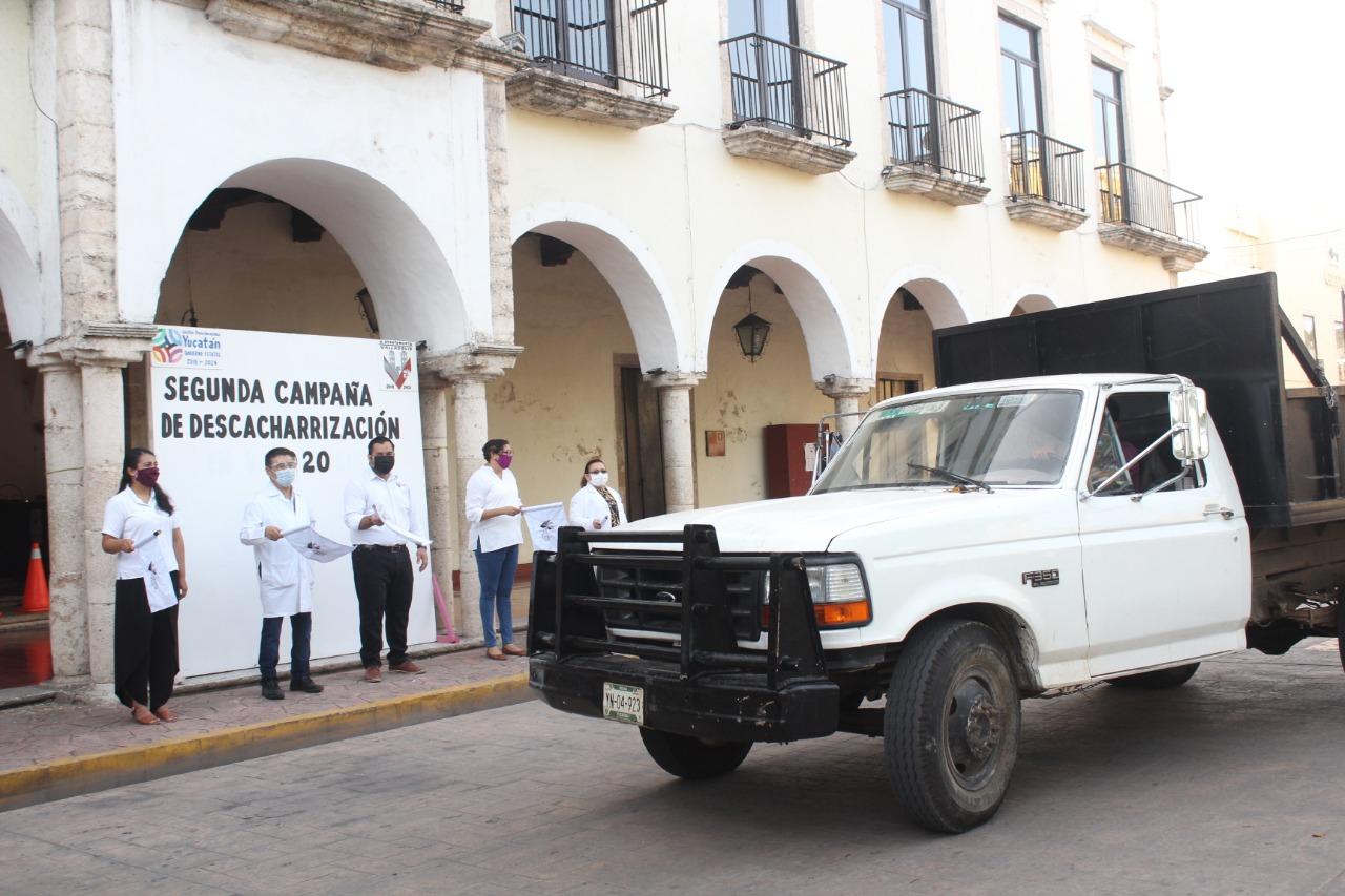 Inició la recolección de cacharros en Valladolid