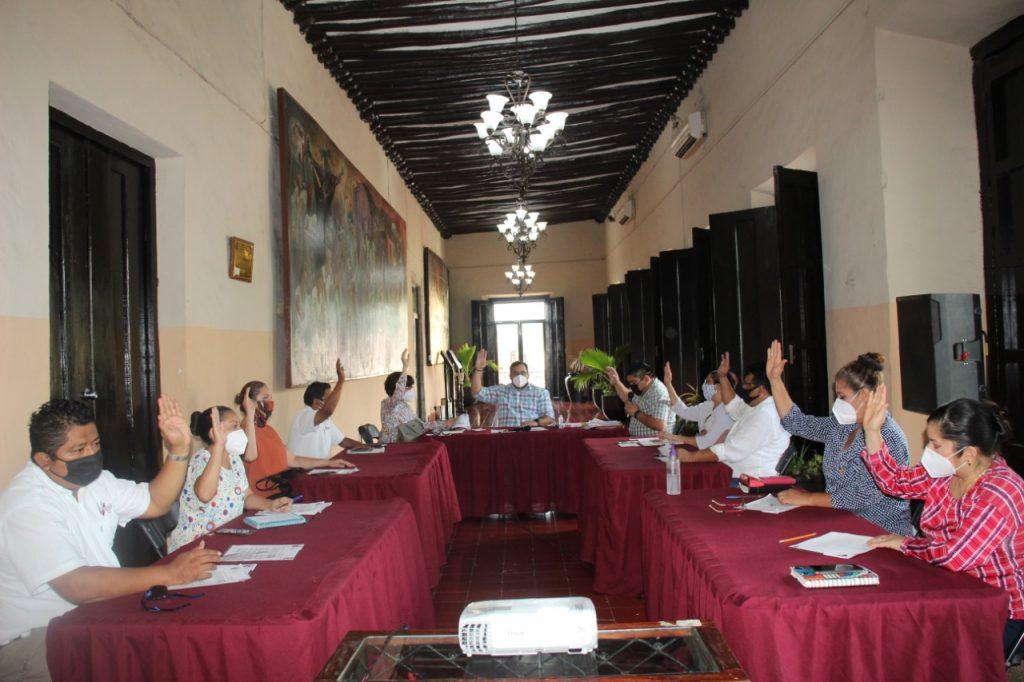 informe de gobierno, reunción de cabildo Valladolid Yucatán 2020