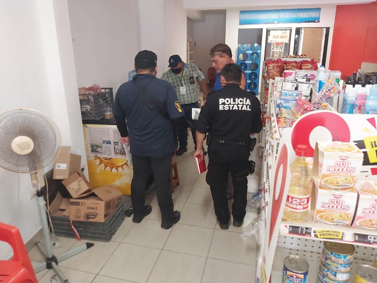 Vigilancia por parte de SSP y policía municipal