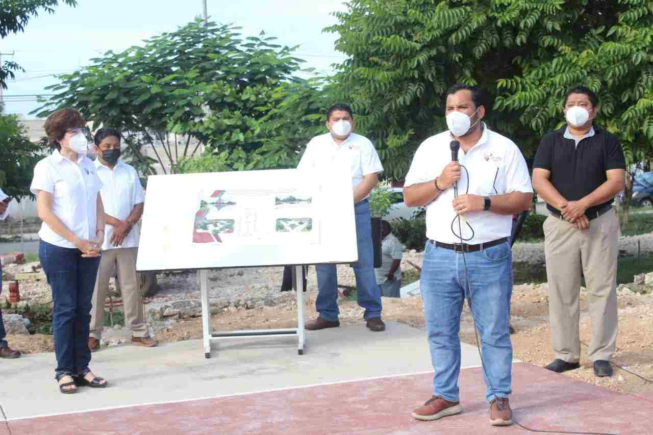Ayuntamiento brindará nueva imagen a parques de Flor Campestre y Oaxaqueña
