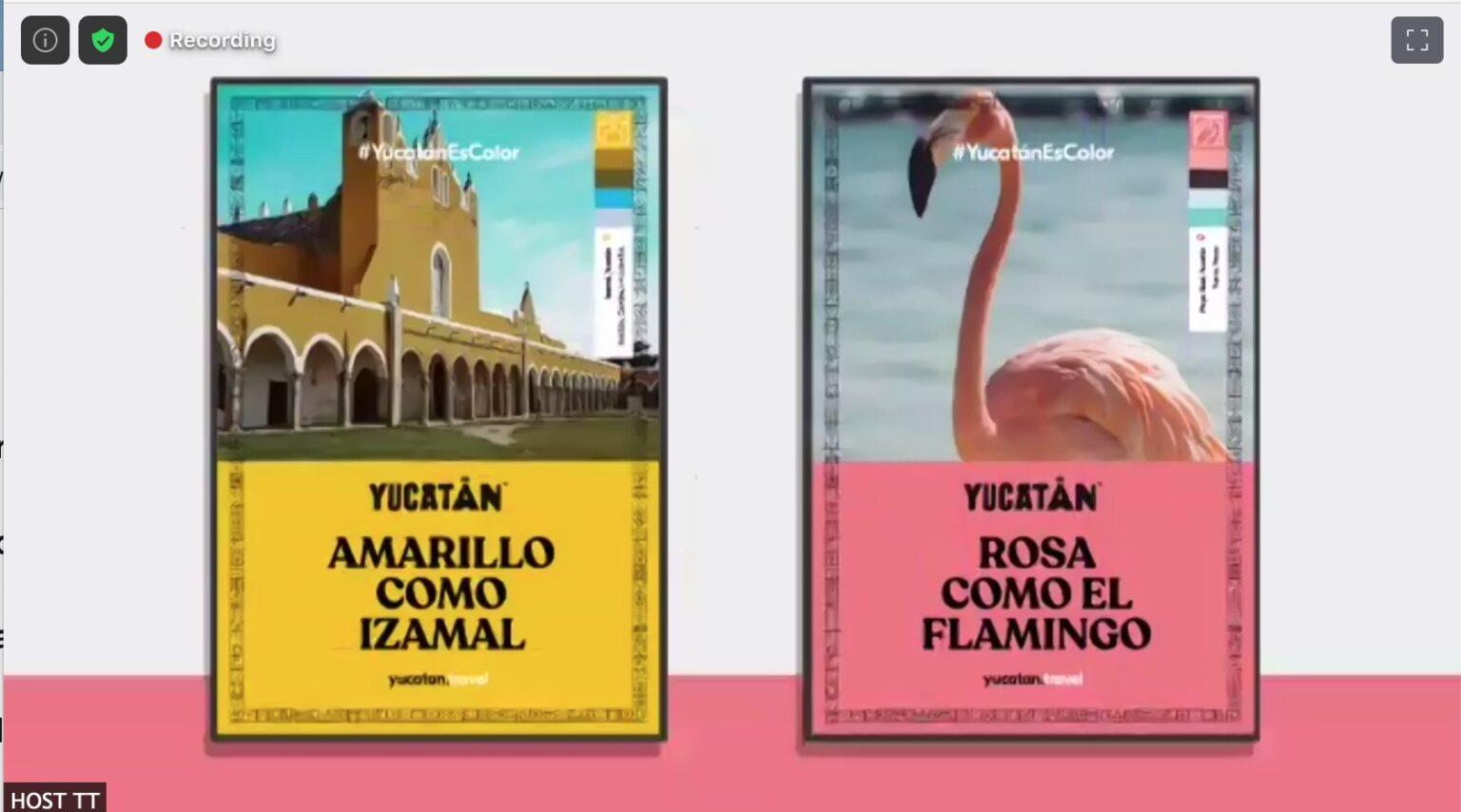 Yucatán presenta su nuevo sitio web y campaña, #Yucatanescolor