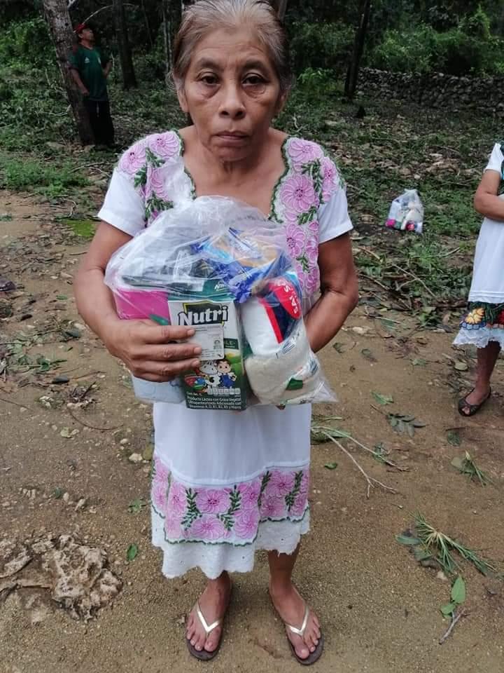 """Apoyos alimentarios para las familias cuya situación se ha complicado por el paso de """"Gamma"""" y """"Delta"""""""