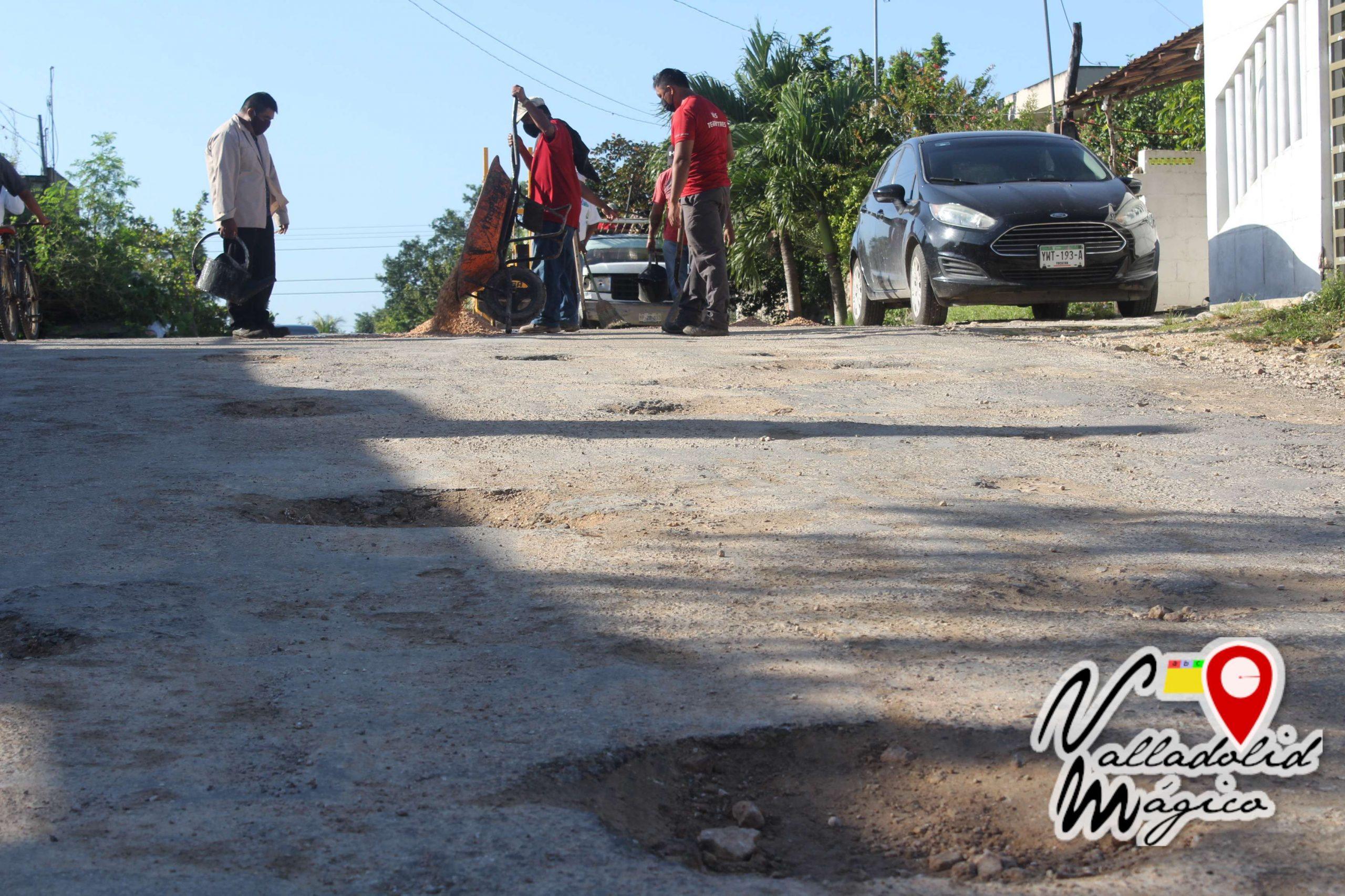 Se refuerza al personal para intensificar trabajos de bacheo en la ciudad