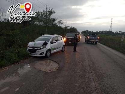 Exceso de velocidad y falta de precaución ocasiona por accidente.
