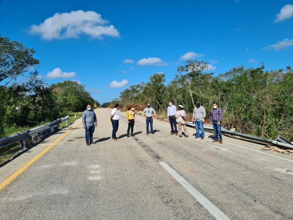 Recorrido de supervisión para planear construcción de estación Tren Maya en Valladolid