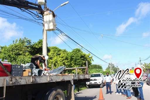 Renovación y modernización del alumbrado público para garantizar un tránsito más seguro de los vallisoletanos