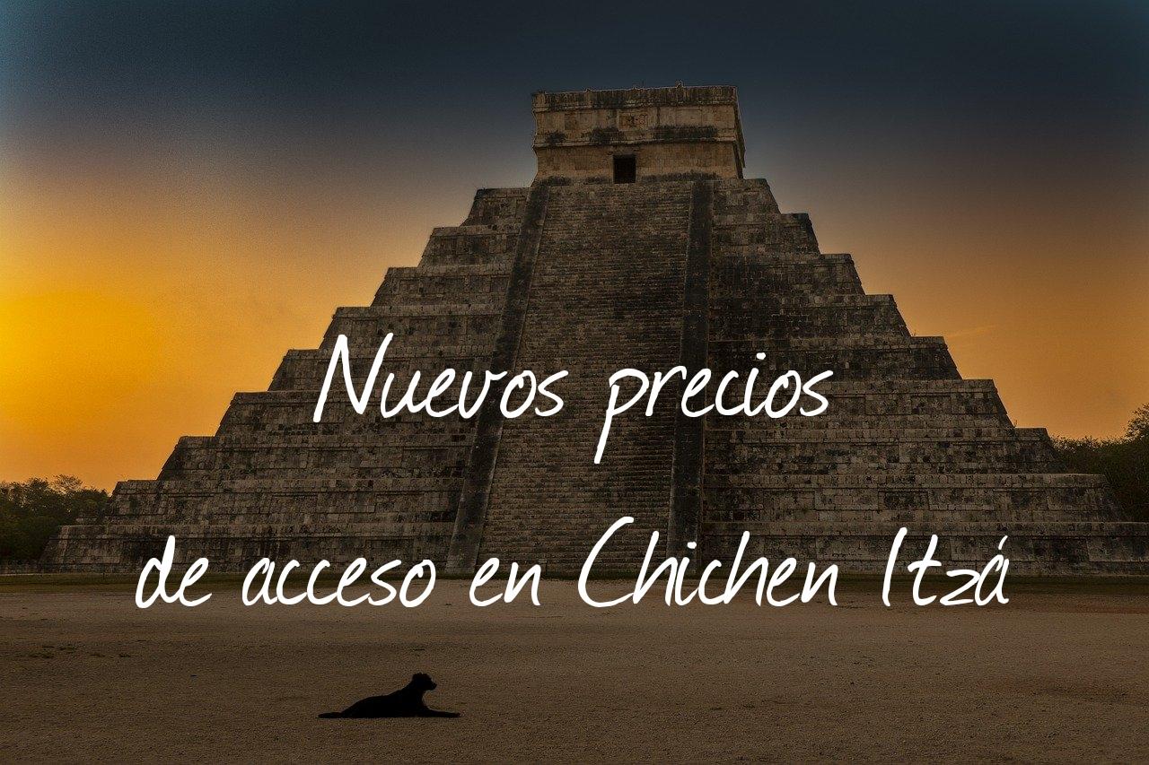 Aumento de precios en 2021 para el acceso a Chichen Itzá