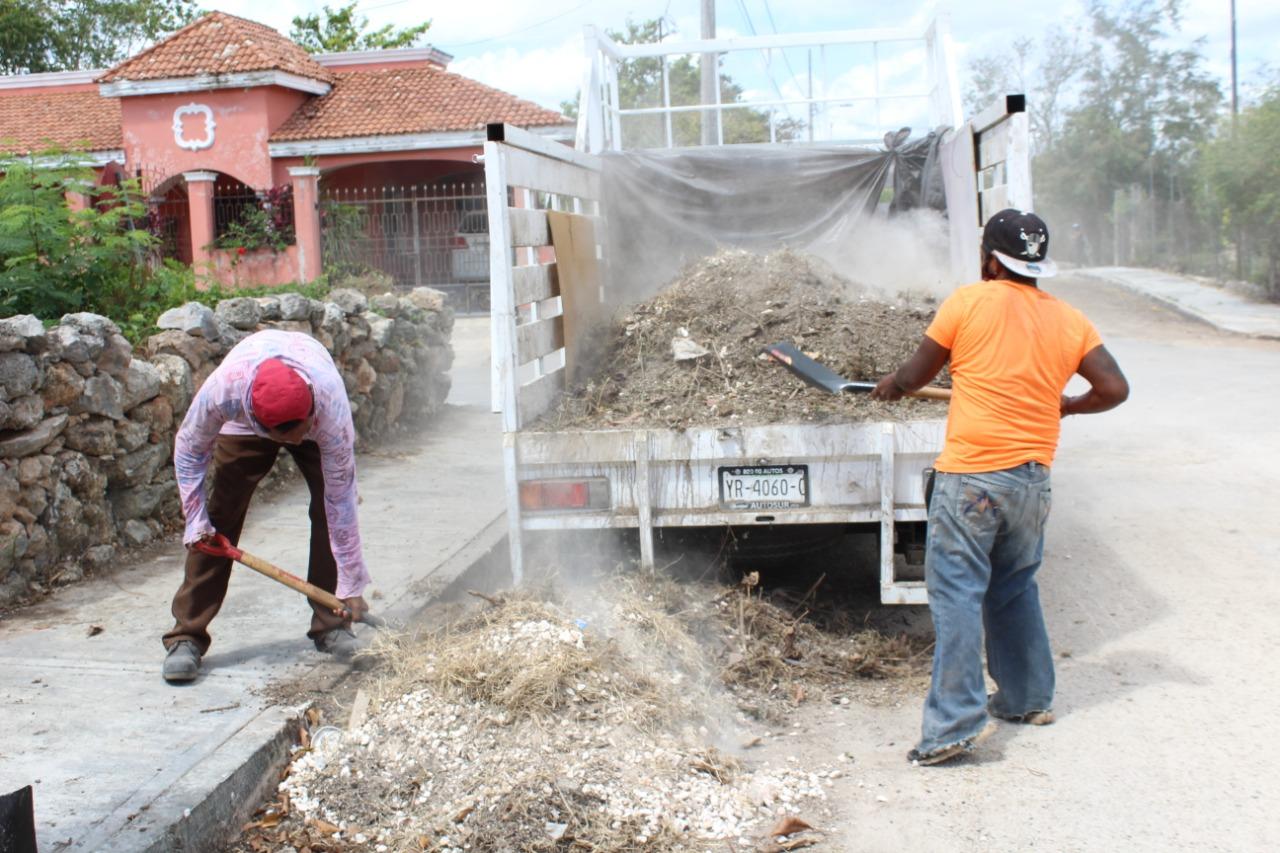 Plan Municipal para reforzar los trabajos de mejora de imagen de la ciudad, se reactiva en la colonia Emiliano Zapata
