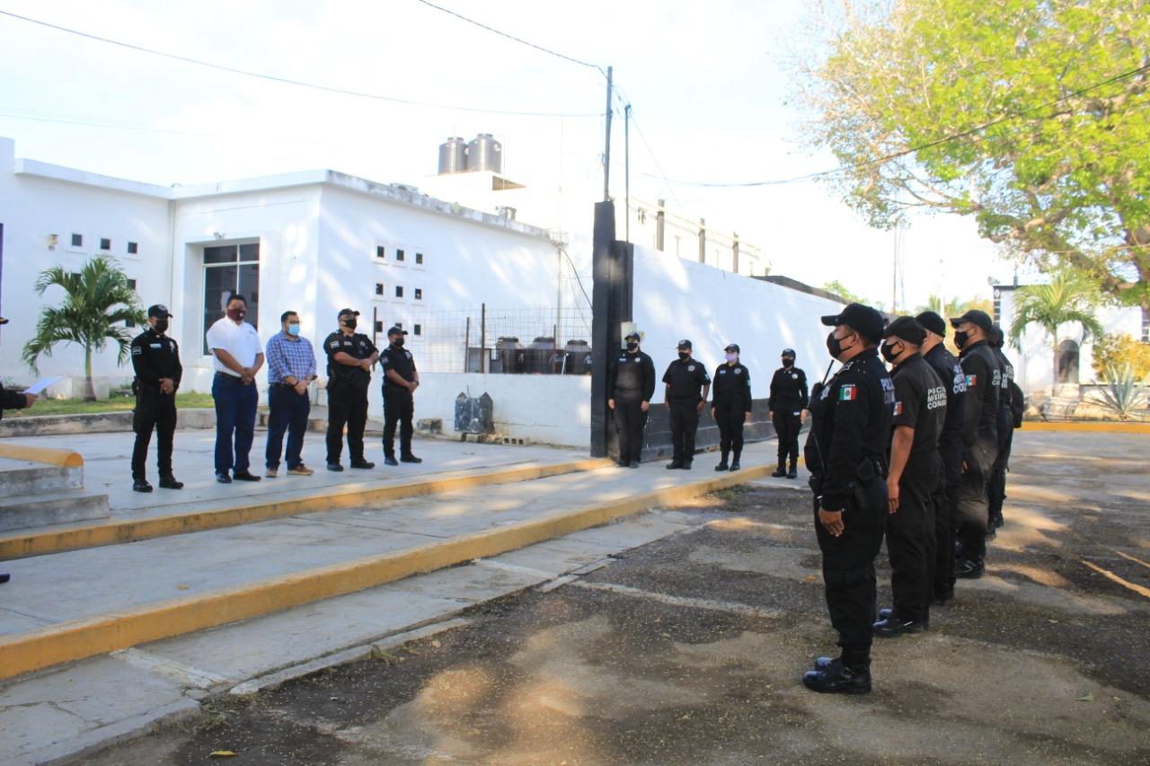 Elementos de nuevo ingreso de la Dirección de Seguridad Pública reciben capacitación