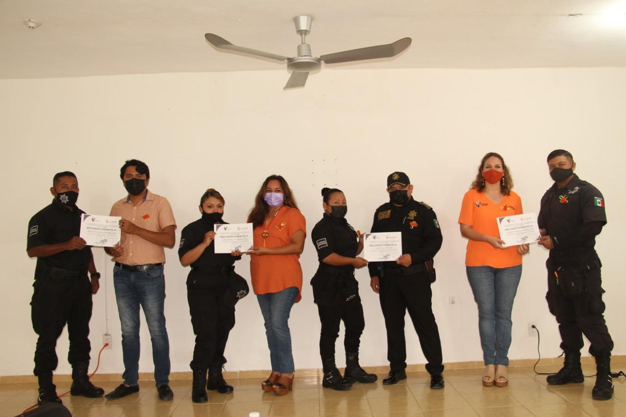 Continúan las acciones de concientización, para erradicar la violencia de género y hacia la mujer en el municipio