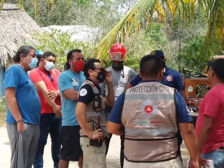 Rescatan cuerpo de joven ahogado en cenote de Sacalaca