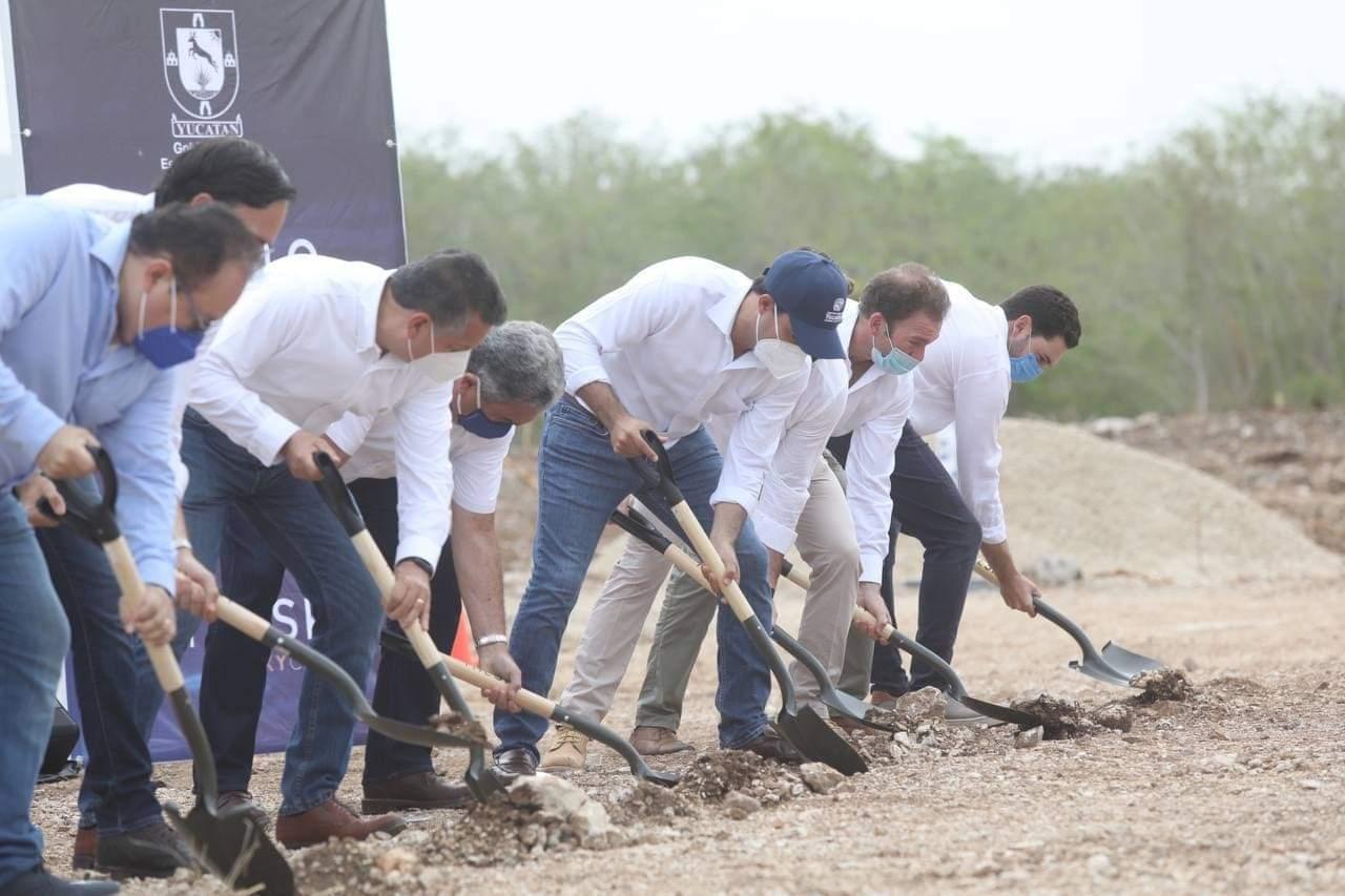 Anuncia el Gobernador Mauricio Vila el inicio de la construcción del SKY el primer rascacielos en Mérida