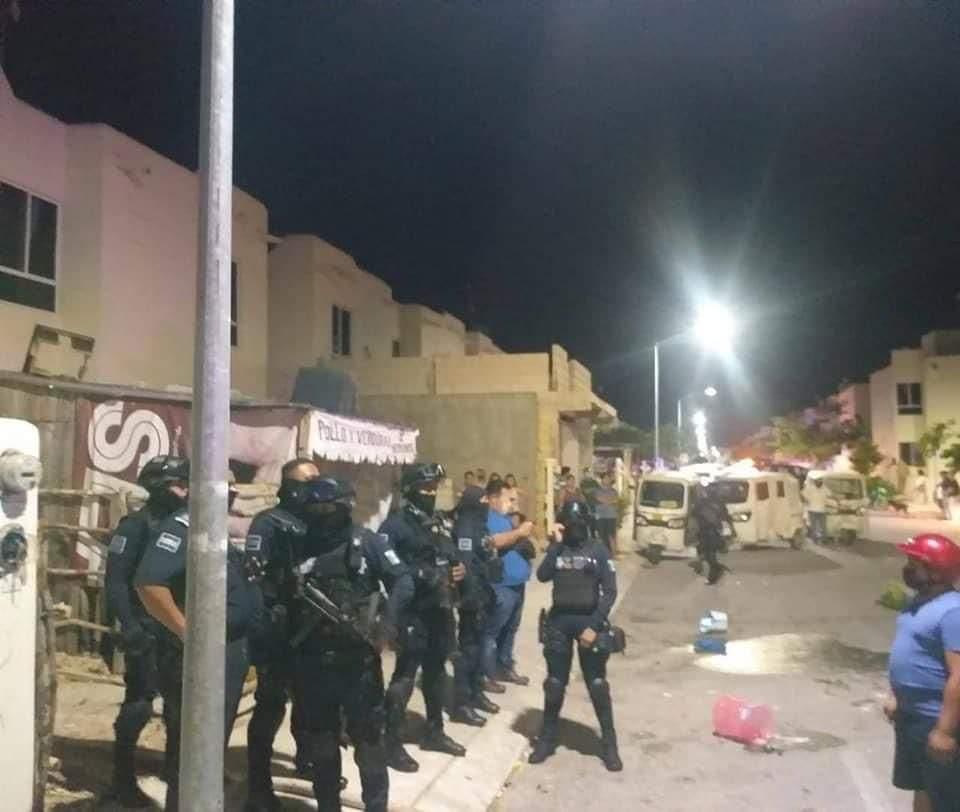 Hacen justicia por mano propia en Playa del Carmen