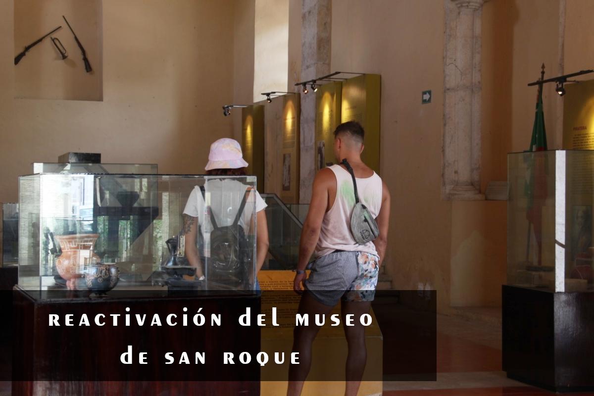 Reactivación del museo San Roque en Valladolid Yucatán