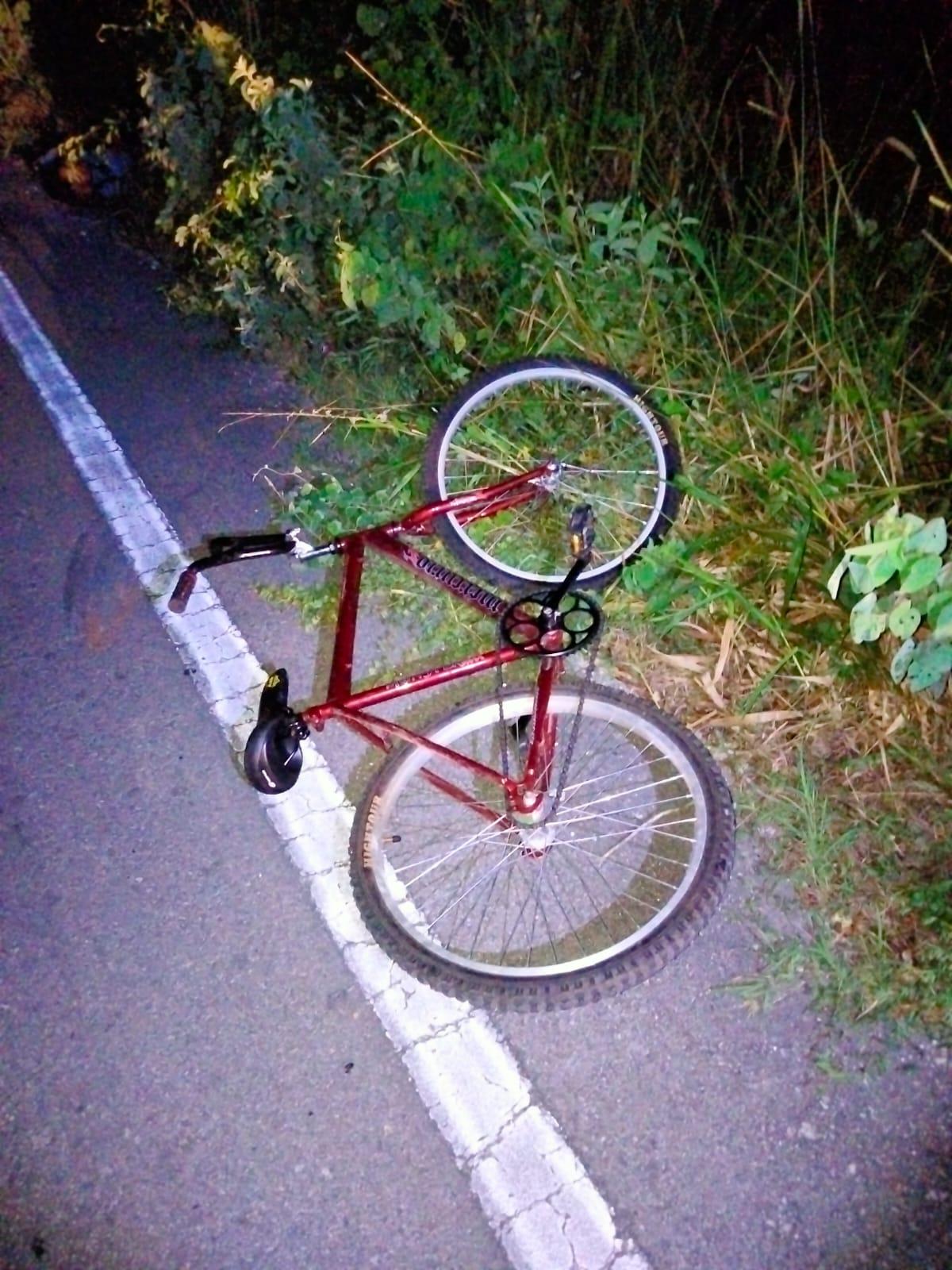 Ciclista atropellado en tramo Xcatzin a Chemax